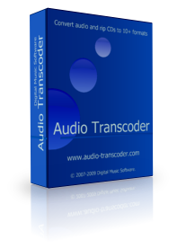 Audio Transcoder Russian edition Screenshot 1