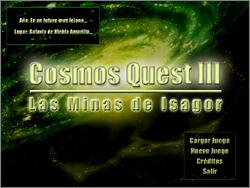 Cosmos Quest III: Las Minas de Isagor Screenshot