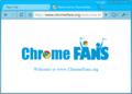 Deep Skyblue Google Chrome Theme 1