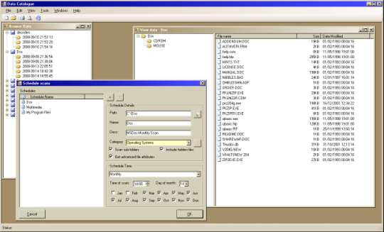 Data Catalogue Screenshot