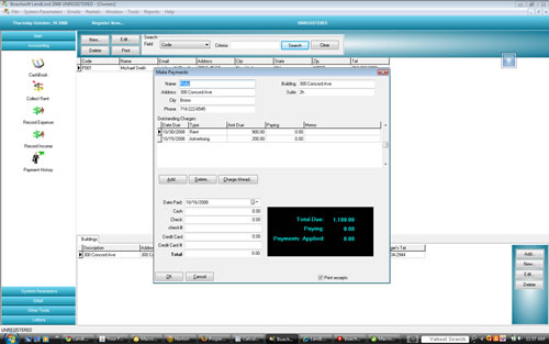 Boachsoft LandLord Screenshot