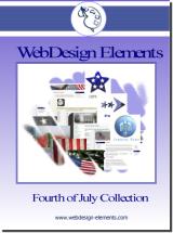4th of July Web Elements Screenshot