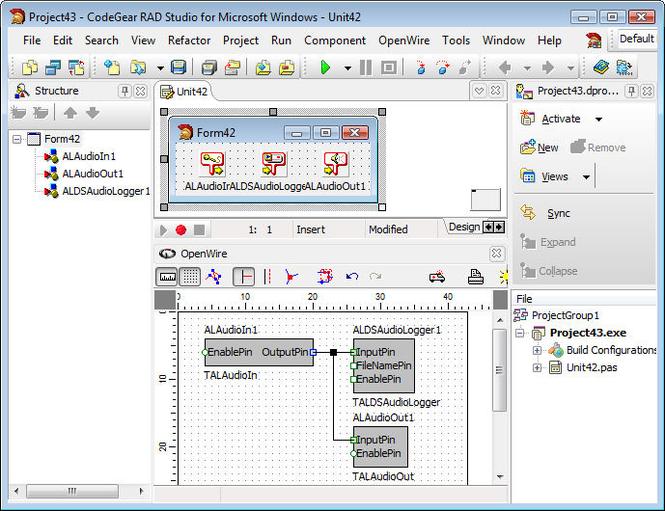 BasicAudio VCL Screenshot 1