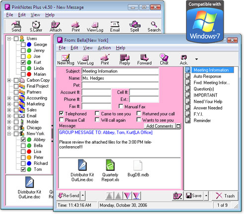 PinkNotes Plus Screenshot