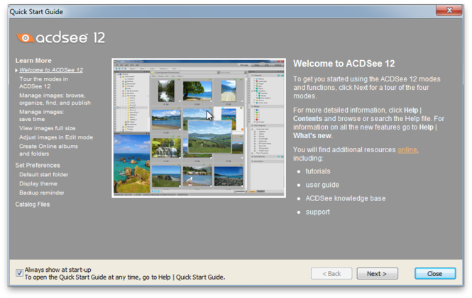 ACDSee Photo Manager 12 Screenshot 2