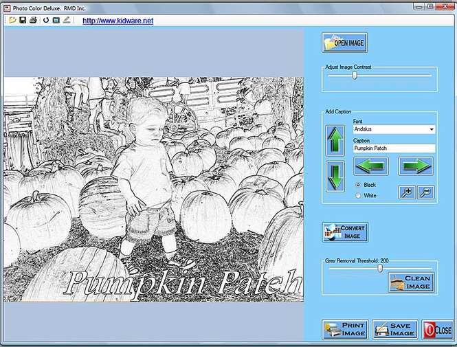 Kidware Photo Color Screenshot