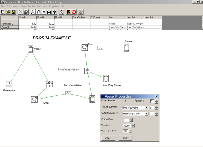 ProsimGraphsPro Screenshot
