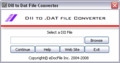 DII to DAT File Converter 1