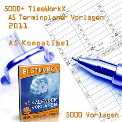 5000+ Zeitplansystem Einlagen 2007 A5 Screenshot 1