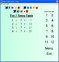 Speaking Times Table Tutor 1