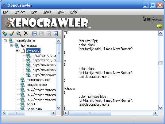 XenoCrawler Screenshot