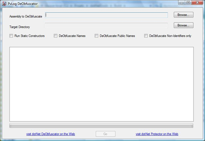 PvLog DeObfuscator Win32 Screenshot 1
