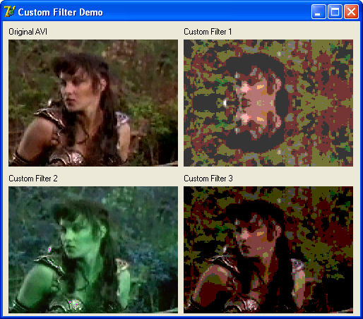 BasicVideo VC++ Screenshot