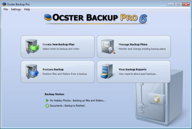Ocster Backup Pro Screenshot 2