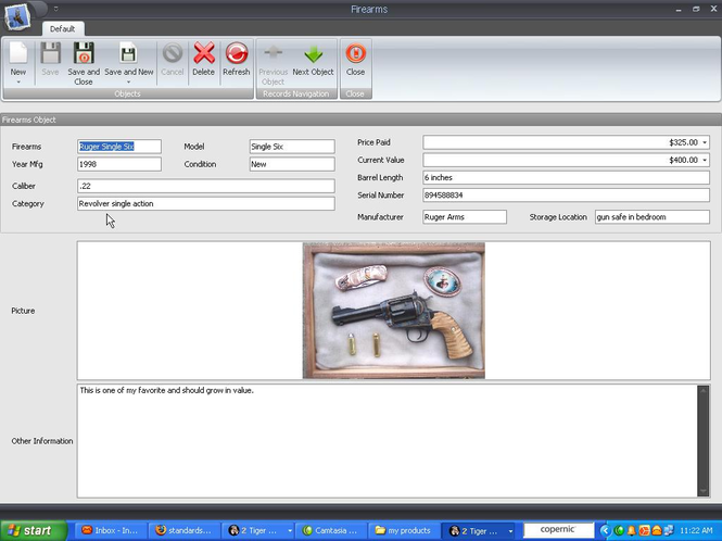 Firearm And Knife Collector Screenshot