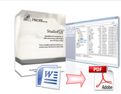 Priore StudioPDF Converter Screenshot