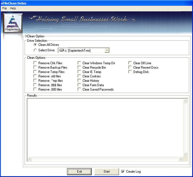 XFileClean Screenshot