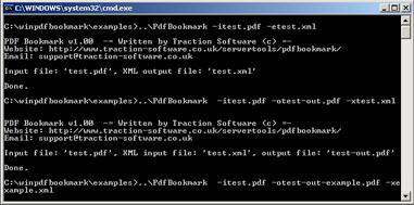 PDF Bookmark Screenshot 1