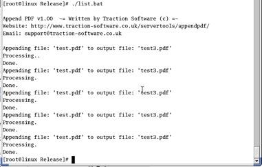 Append PDF Screenshot