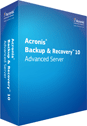 Acronis Backup & Recovery 10 Advanced Server Screenshot