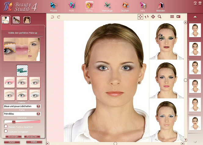 Beauty Studio - Make Up Styler 4 Screenshot 1