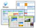 TMS Silverlight Planner 1