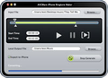 AVCWare iPhone Ringtone Maker for Mac 1