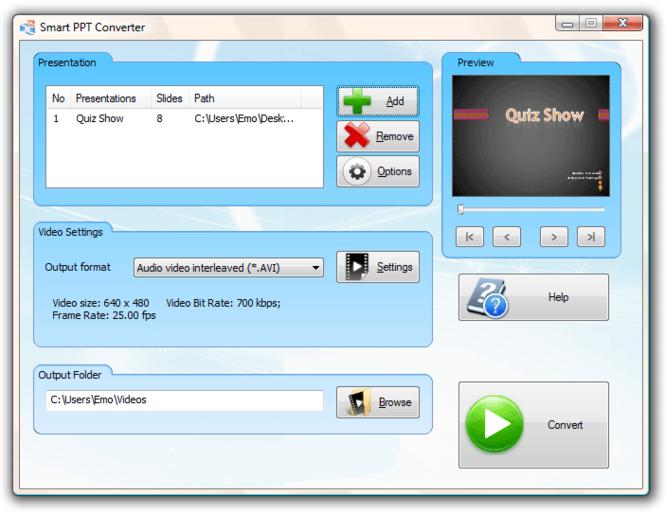 #1 Smart PPT Converter Screenshot