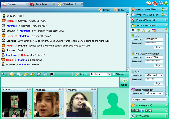 Community Chat Screenshot 1