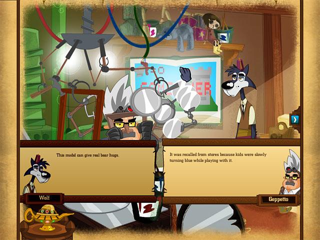 Big Brain Wolf Screenshot 1