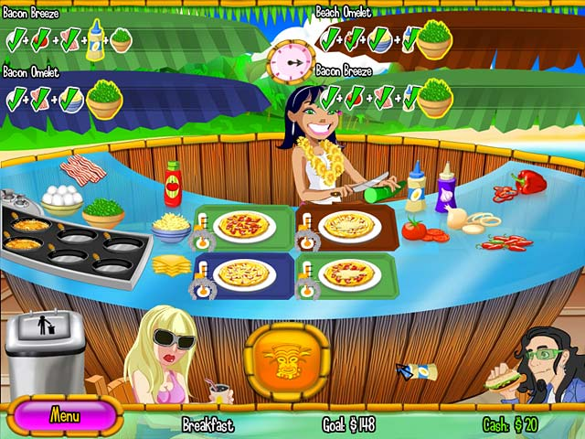 Burger Island 2: The Missing Ingredients Screenshot