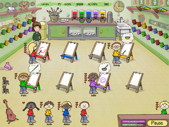 Carrie the Caregiver 2: Preschool Screenshot