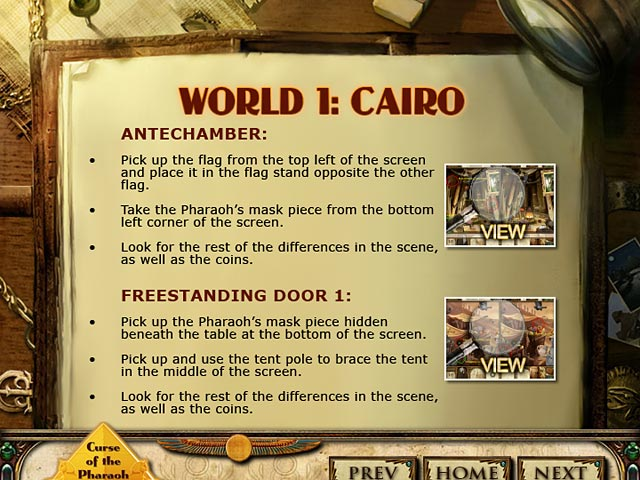 Curse of the Pharaoh: Napoleon's Secret Strategy Guide Screenshot 1