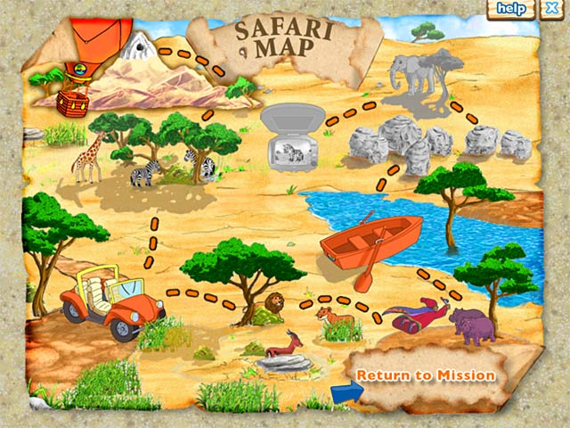 Diego`s Safari Adventure Screenshot