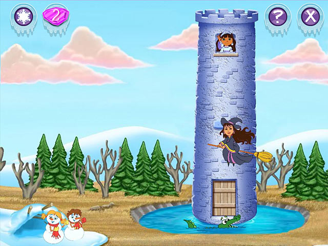 Dora Saves the Snow Princess Screenshot 1