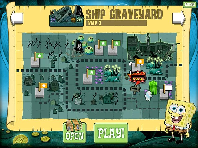 SpongeBob Atlantis SquareOff Screenshot 1