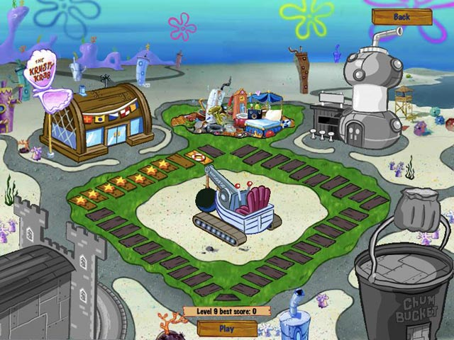 SpongeBob SquarePants Diner Dash 2 Screenshot