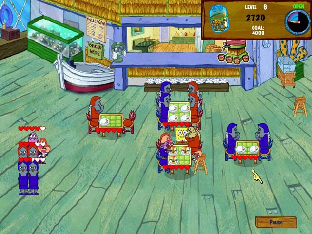 SpongeBob SquarePants Diner Dash 2 Screenshot 2