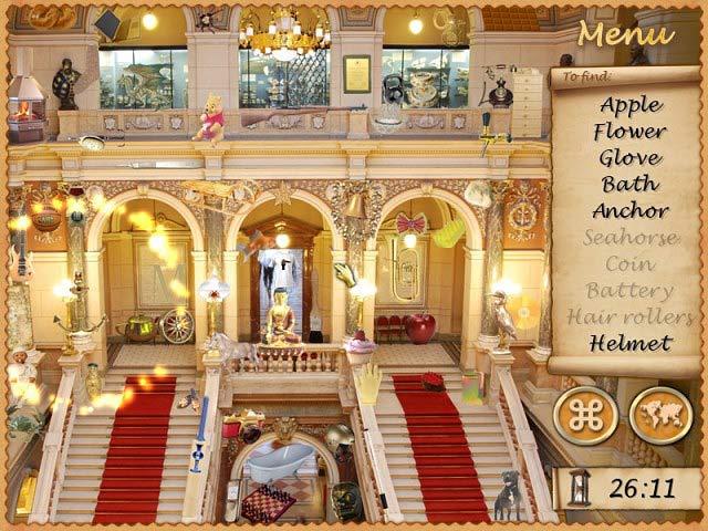 The Mysterious City Golden Prague game Screenshot 1