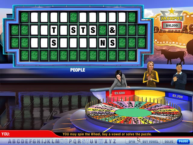 Wheel of Fortune 2 Screenshot