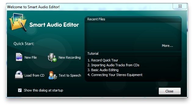 Smart Audio Editor Screenshot 2