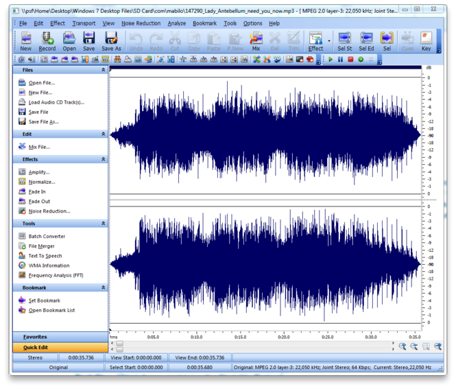 Smart Audio Editor Screenshot 3