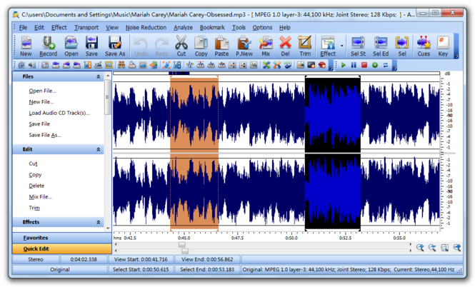 Smart Audio Editor Screenshot 1