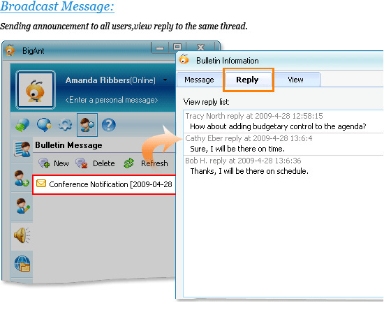 BigAnt Office Messenger Screenshot 6