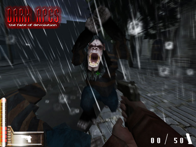 Dark Apes - Fate of Devolution Screenshot 1