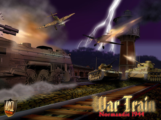 Wartrain - Normandy1944 Screenshot