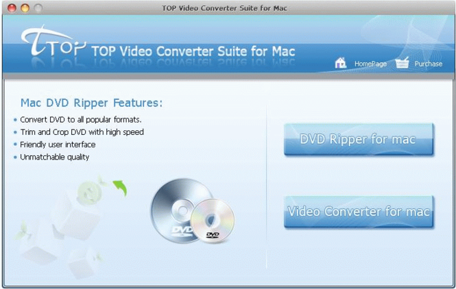 TOP Video Converter Suite for Mac Screenshot