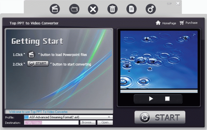 TOP PPT to Video Converter Screenshot
