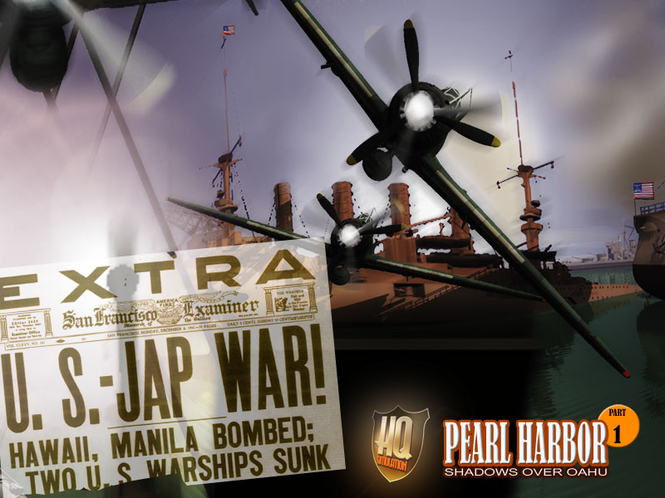 Pearl Harbour - Shadows Over Oahu Screenshot