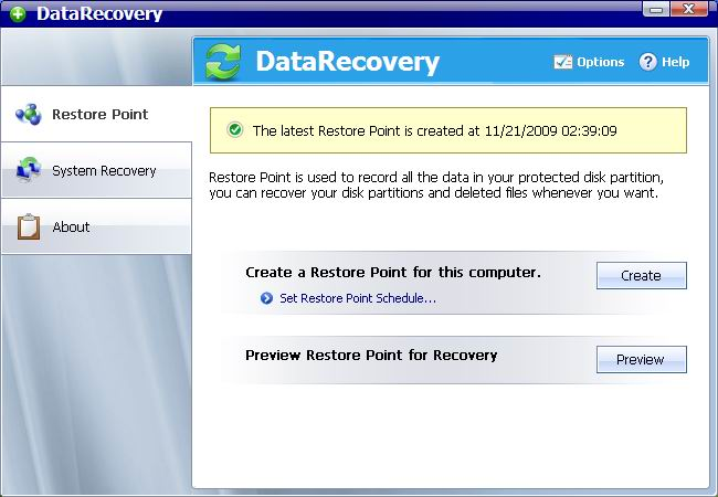AthTek Data Recovery Screenshot 1